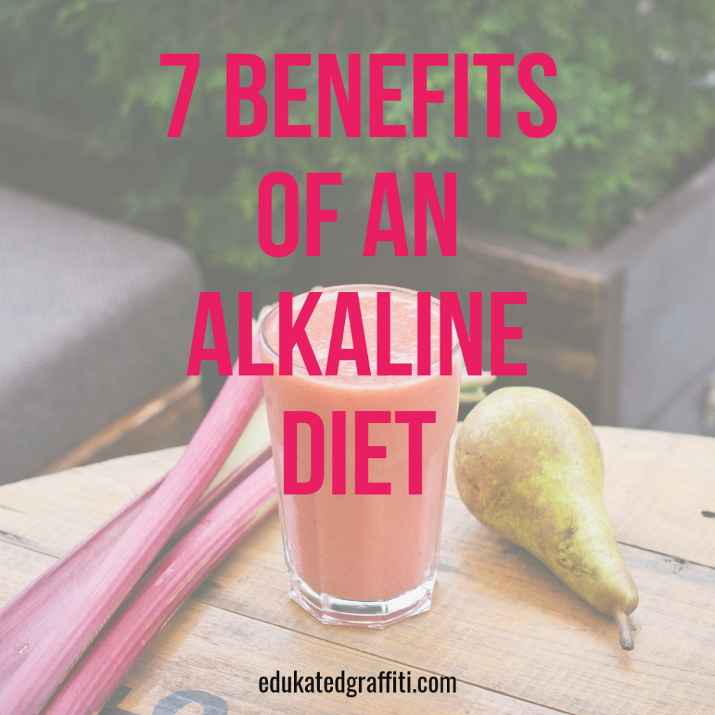 alkaline diet smoothie vegetable
